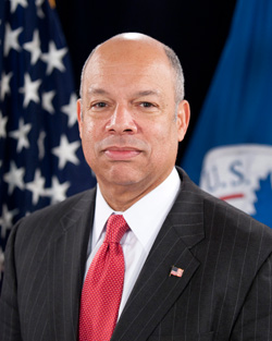 DHS Secretary Jeh Johnson.