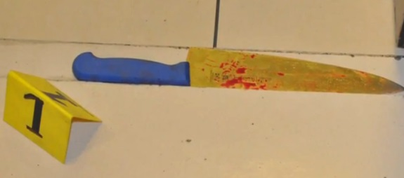 Possible weapon used in Abu Dhabi restroom attacks. Source: Abu Dhabi police video