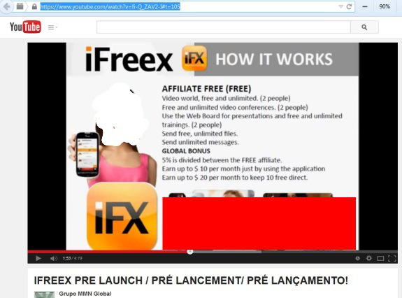 From a 2014 YouTube promo for iFreeX. Masking by PP Blog. In 2014, T-Mobile told the PP Blog that it was XX
