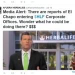 DEVELOPING: Herbalife V. Twitter: More Latino Polarization?