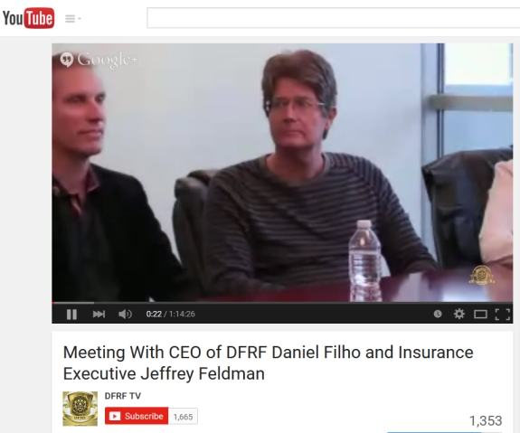 Daniel Fernandes Rojo Filho and Jeffrey A. Feldman: Source: DFRF Enterprises' pitch on YouTube.