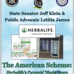 BULLETIN: New York State Senator Calls Herbalife A 'Pyramid Scheme,' Says Its 'House Of Cards Is Tumbling Down'
