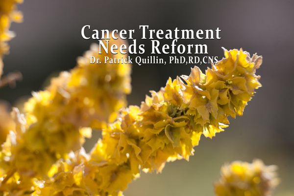 Cancer Treatment Needs Reform