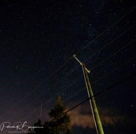 étoiles poteau