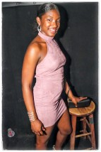 Ebony Babe Backstage at Orlando's Beacham
