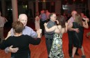 Social Dancing during the St Patricks social dance and draw.