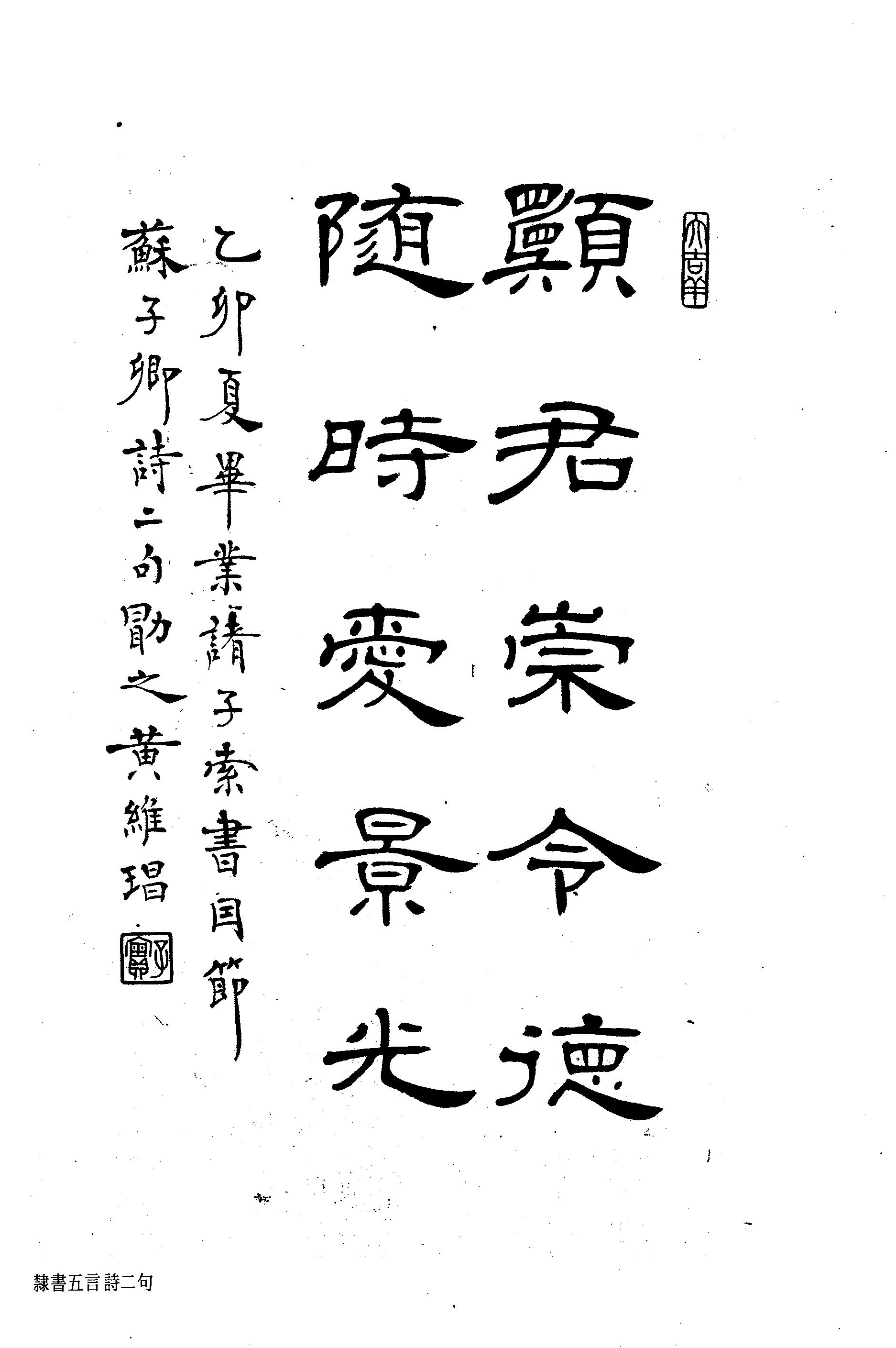 Studies of the Calligraphy of Professor WONG Wai Cheong