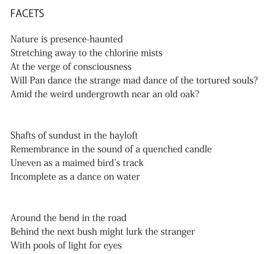 Facets - excerpt