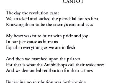 The Day the Revolution Came – Canto I
