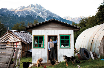 Rancher along the Carretera Austral Photograph by Michael Hanson