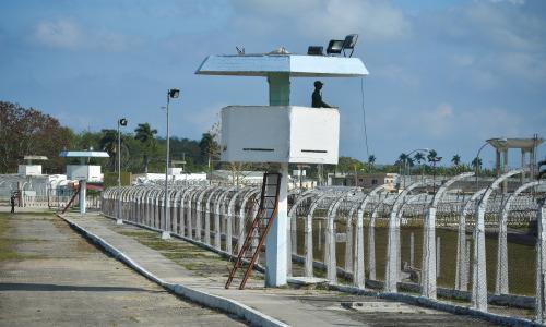 Maximum security prison Combinado del Este in Havana (Photo: Adalberto Roque/AFP/Getty Images)
