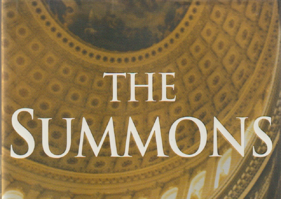"""Book Review """"the Summons"""" By John Grisham  Patrick T"""