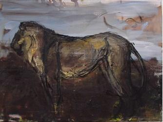 Lion 45x65cm oil on canvas ©2004