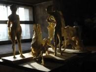 Paper studies in the studio ©2010