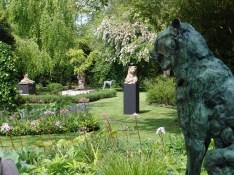 View garden exhibition Latem Gallery ©2014