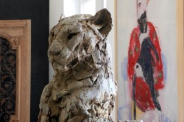 Bust Panther (sold) Exhibition view CAC Matmut ©2016