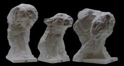 Royal Busts II-I-III h.39-45cm ceramic 1/50 © 2008
