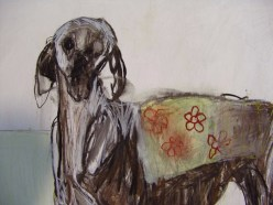 Domestic Dog Mixed media 126x122cm ©2013