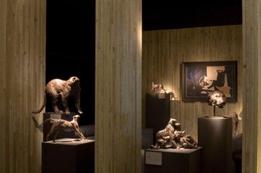 Exhibition view Eurantica Verlat Gallery stand 2009