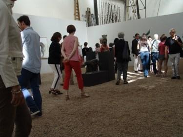 Exhibition view of the solo show at the Orangerie du Sénat ©2013