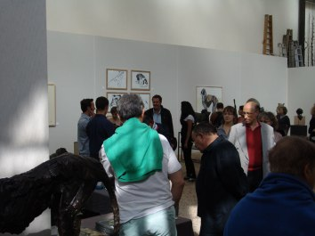Exhibition view of the solo show at the Orangerie du Sénat ©2013