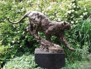 Grande Panthère Royal Boch 167x160x87cm bronze 1/3