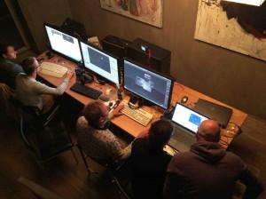 3D scans of original studio models by BUT in 2016