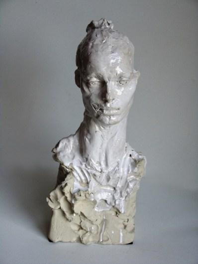Girl with the Swan Neck 65 x 29 x 24 cm 1/1 in ceramic ©2018