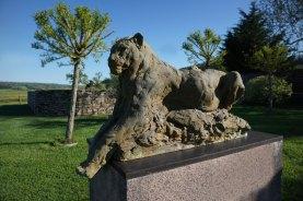 Patrick Villas Life-size Jaguar 117x76cm ©2019