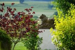 Jaguar grandeur nature au Jardin de Sculptures