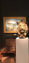 Head of a Lion III on Masterpiece London