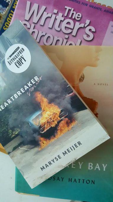 Saturday morning went for breakfast in Santa Cruz and visited Bookshop Santa Cruz where I got a few treats.