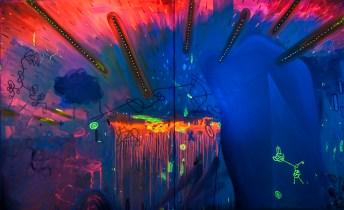 Beleza Pura (o prazer das cores) 260 x 170 cm Oil, Canvas patrikmuchenberger.com
