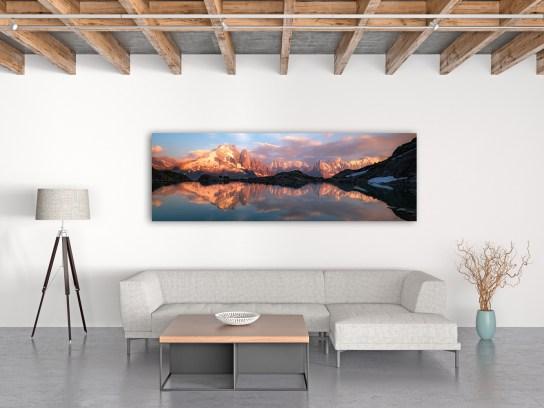 Panoramabild auf Alu-Dibond Fujifilm Glanzpapier