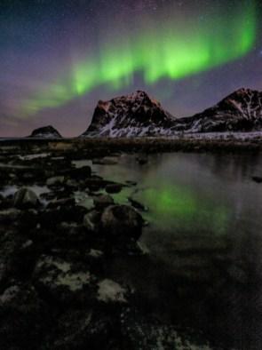 Nordlicht Lofoten Norwegen