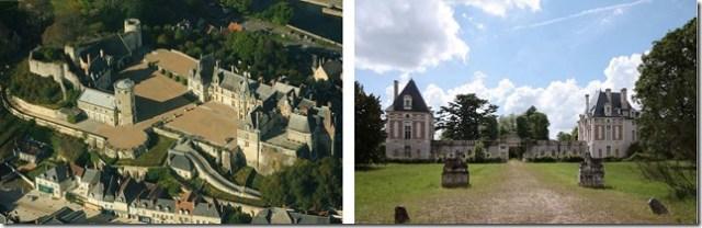 Chateaux de Saint-Aignan et de Selles-sur-Cher (41)