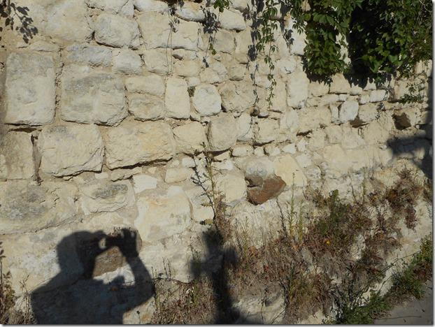 Calcaire de Tuffeau et grès