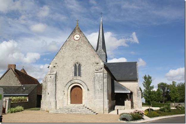 L'église Notre-Dame de Françay (41)