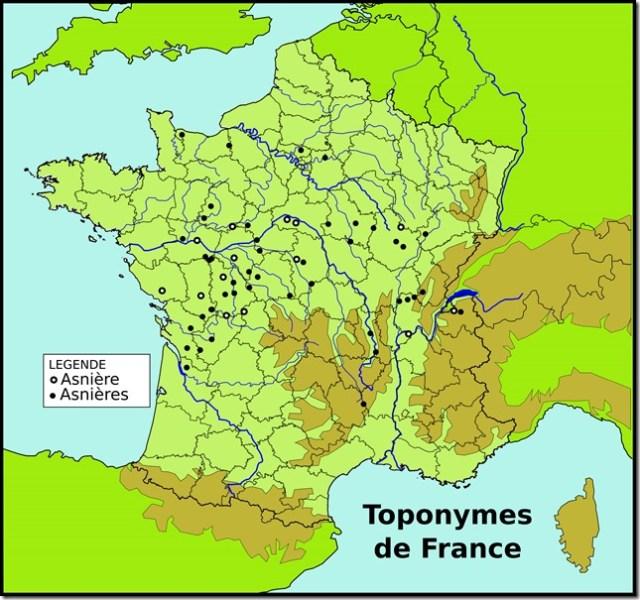 Toponymes Asnière(s) copie