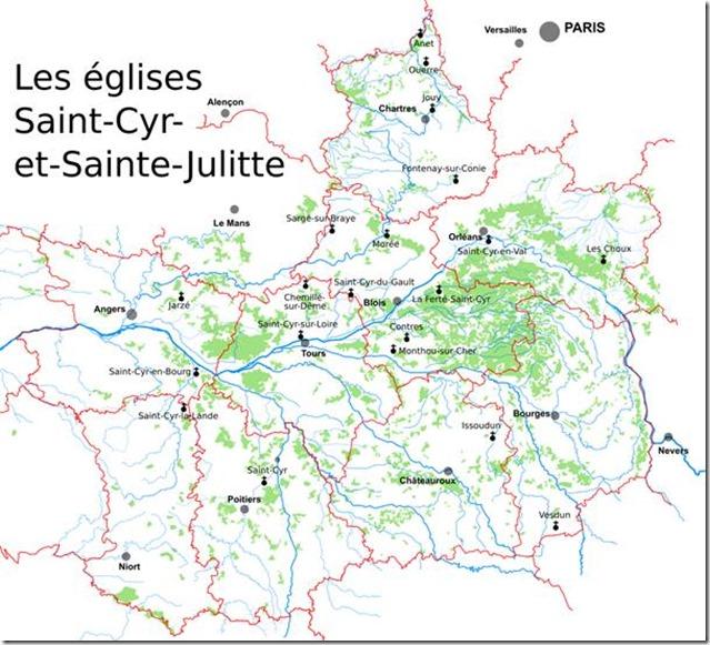 Les églises Saint-Cyr-et-Sainte-Julitte