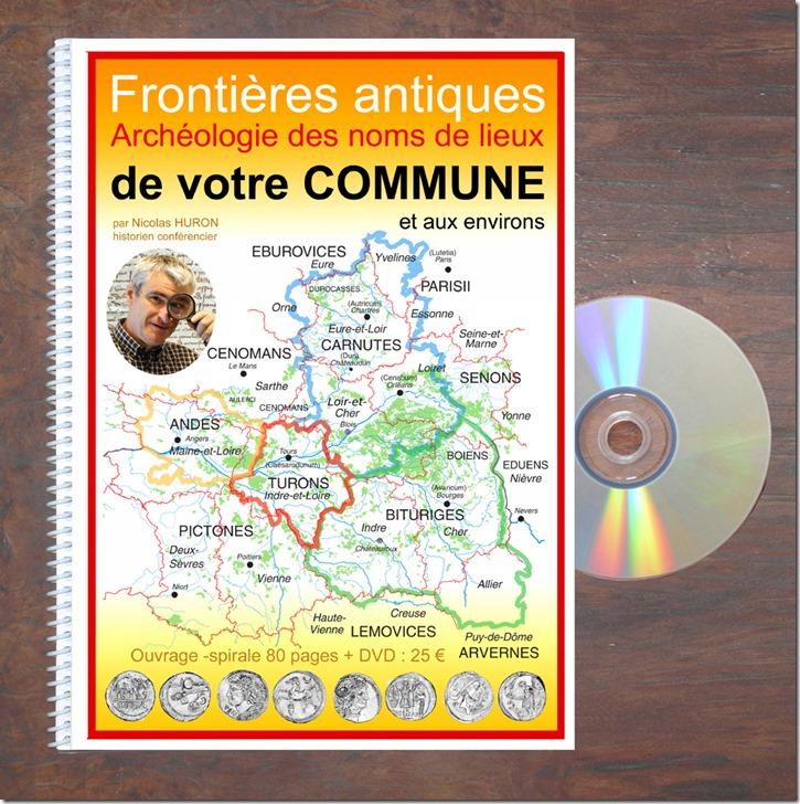 Frontières antiques Livre-spirale+DVD
