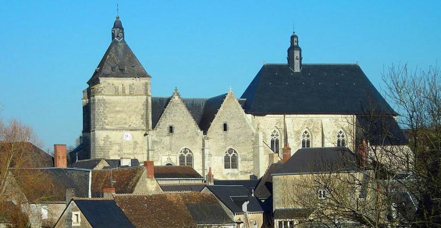 L'église de la collégiale de Bueil-en-Touraine (37)