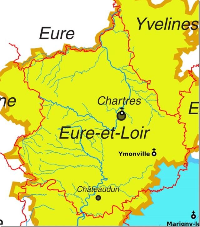 Les églises Saint-Saturnin dans le département d'Eure-et-Loir