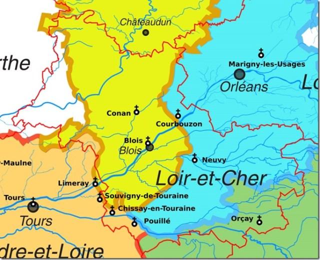 Les églises Saint-Saturnin dans le département de Loir-et-Cher
