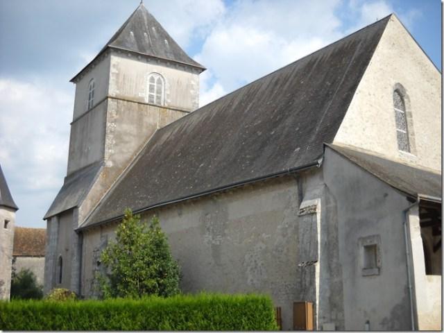 L'église Saint-Etienne de Huisseau-sur-Cosson (Loir-et-Cher ; 41)
