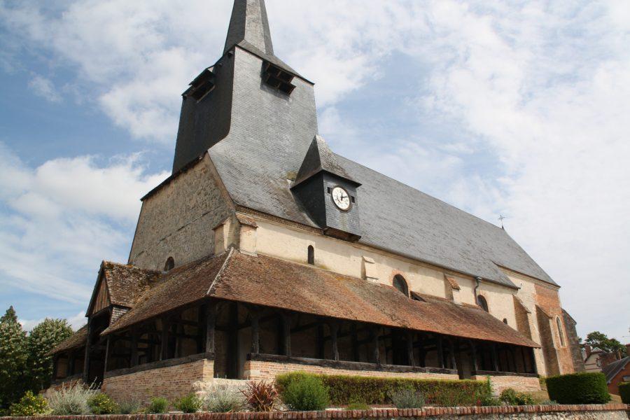 L'église Saint-Etienne de Brinon (Cher)