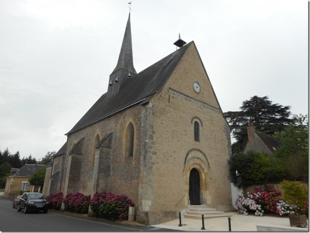 L'église Saint-Etienne d'Epeigné-sur-Dême (Indre-et-Loire ; 37)
