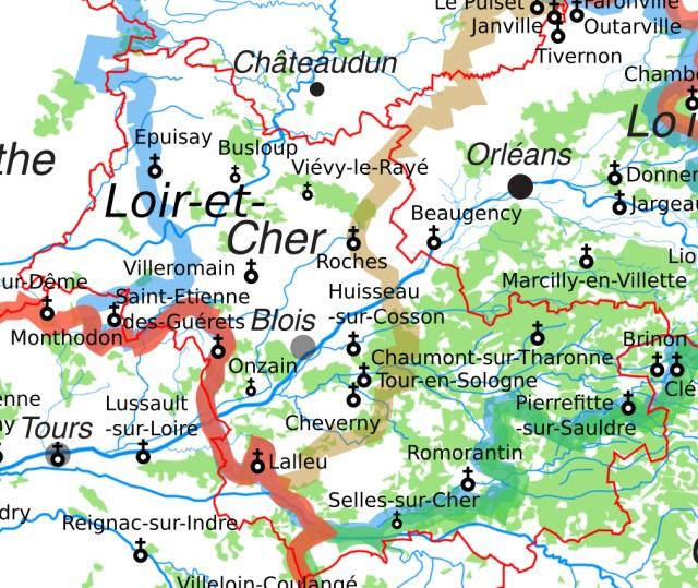 Les églises et chapelles Saint-Etienne en Loir-et-Cher