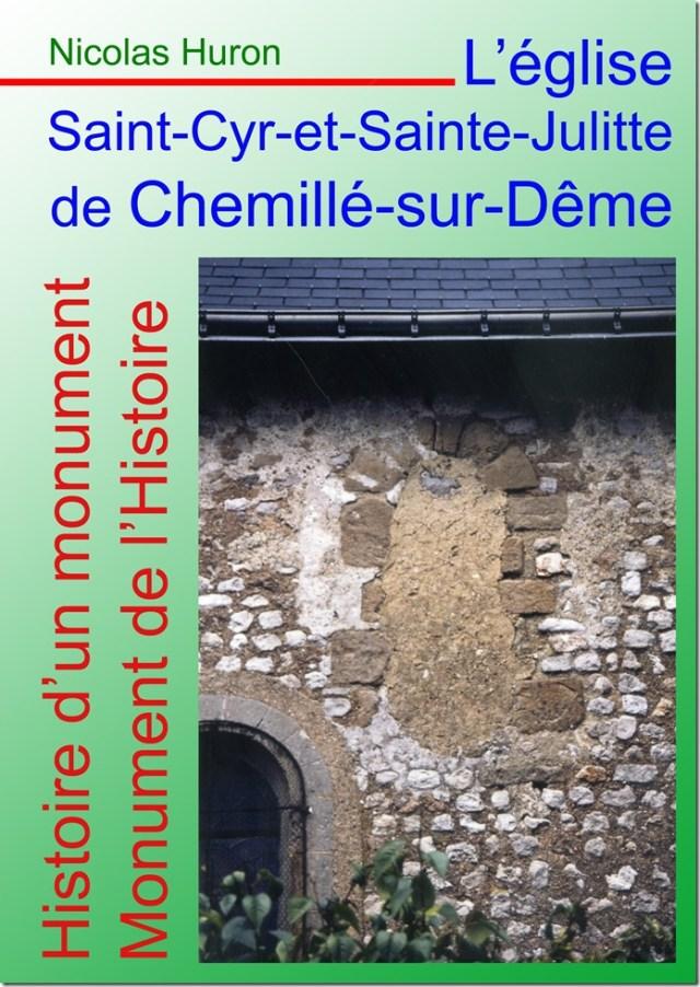 Couverture de l'historique de l'église Saint-Cyr-et-Sainte-Julitte de Chemillé-sur-Dême
