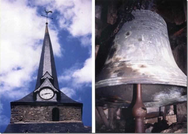 avec son horloge de 1688 et sa cloche de 1760